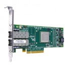 Dell QLogic QLE2662, Dual Port, 16Gbps Fibre Channel PCIe HBA Card Full Height (406-BBBB)