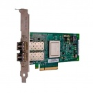 Dell QLogic QLE2662, Dual Port, 16Gbps Fibre Channel PCIe HBA Card Low Profile (406-BBBH)