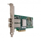Dell QLogic QLE2562, Dual Port, 8Gbps Optical Fibre Channel PCIe HBA Card Full Height (406-BBEK)