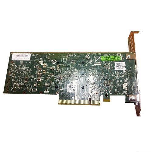 Dell Broadcom 57412 Full Height, Dual port 10 Гбит, SFP+, PCIe (540-BBUN)