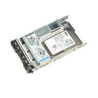 "Dell 800GB SSD SATA Mix Use MLC 6Gbps 2.5in Hot Plug in hybr carrier 3.5"" Kit for G13 servers (400-AIGG)"