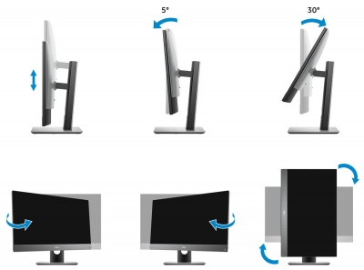 Моноблок Dell Optiplex 7780 Height Adjustable Stand (7780-7045) в XPS-PRO.RU