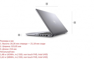 Ноутбук Dell Latitude 5410 Thunderbolt (5410-8909) в XPS-PRO.RU