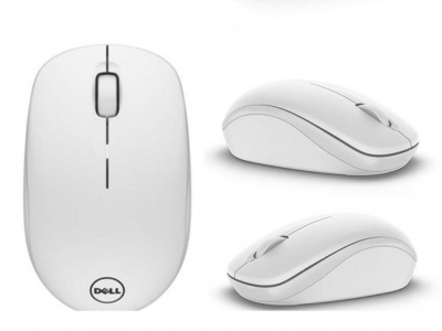 Беспроводная мышь Dell WM126 Wireless Mouse White (570-AAQG)