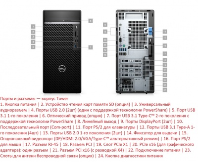 Компьютер Dell Optiplex 7071 MT (7071-2042) в XPS-PRO.RU