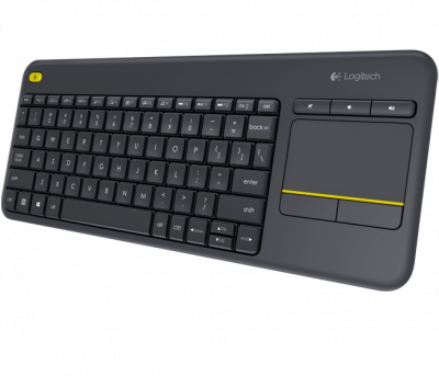Клавиатура Logitech Keyboard K400 Wireless Touch Plus RTL, USB (920-007147) в XPS-PRO.RU