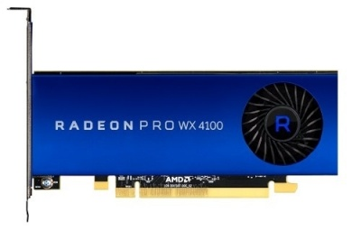 Видеокарта Dell Radeon Pro WX 4100, 4GB, Full Height (490-BDRJ)