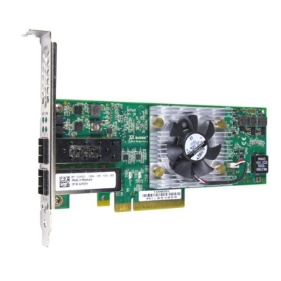 Dell QLogic QLE8152, Dual Port, 10Gbps FCoE Converged Network Adapter (406-10217)